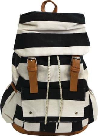 Fashion nahrbtnik Round Navy Black