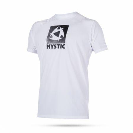 Mystic kopalna majica Quickdry Star SS-100 White, bela, L