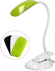 Solight LED stmívatelná lampička 2v1 podstavec i klip, 3 barevné kryty