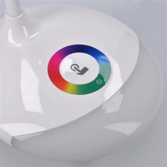 Solight LED stolní lampička nabíjecí 5W RGB podsvícení