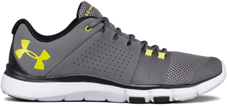 Under Armour Strive 7 Graphite Black Smash Yellow 44