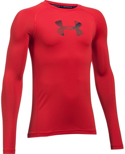 Under Armour Armour LS Red Black S