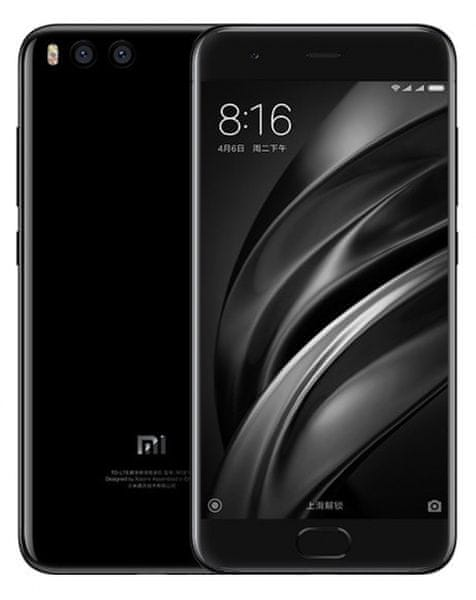 Xiaomi Mi6, 64GB/6GB, Dual SIM, černá