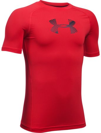 Under Armour majica Armour SS Red Black, otroška, XL