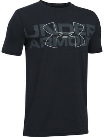 Under Armour majica Duo Armour SS T Black Steel White, S