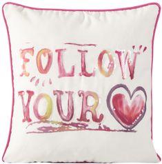 My Best Home poduszka Rainbow Follow Your Heart, 45x45 cm