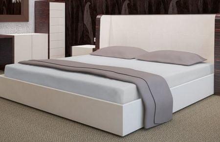 My Best Home Froté napínací prostěradlo na matraci 180x200 cm šedá