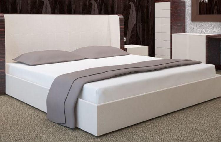 My Best Home Jersey napínací prostěradlo na matraci 200x220 cm bílá