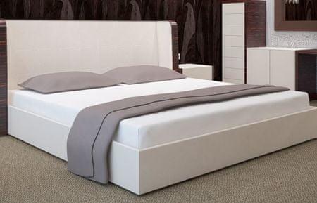My Best Home Jersey napínacia plachta na matrac 200x220 cm biela