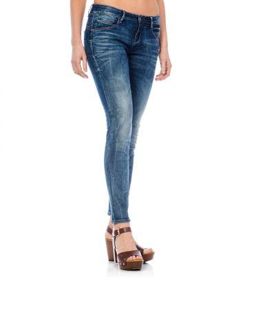 Timeout dámské jeansy 31/32 modrá