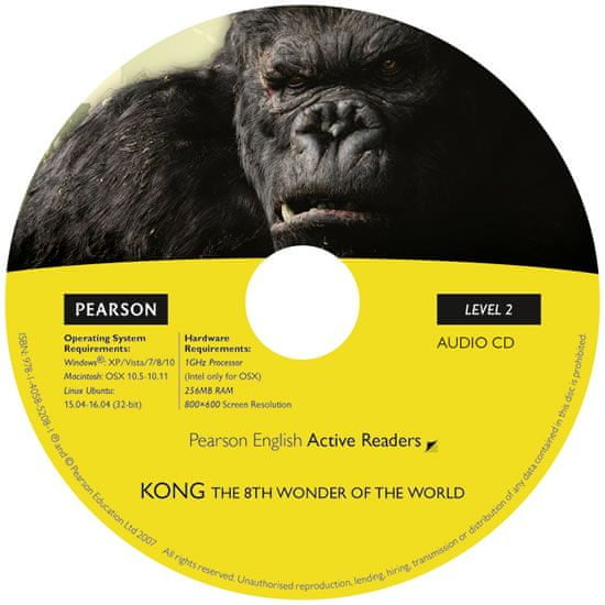 Degnan-Veness Coleen: Level 2: Kong the Eighth Wonder of the World Book/CD Pack