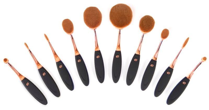 RIO Sada stětců pro make-up (Microfibre Brush Set) 10 ks