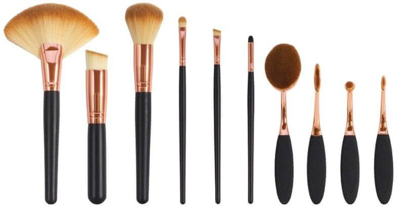 RIO Sada štětců pro make-up (Make Up Artists Brush Collection) 10 ks
