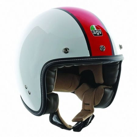 AGV motocyklová jet prilba  RP60 B4 De Luxe vel.L (59-60cm)