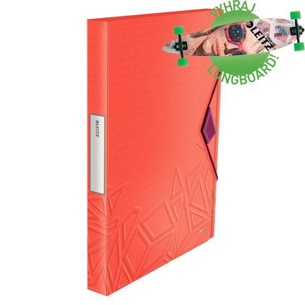 Box na spisy Leitz Urban Chic červený
