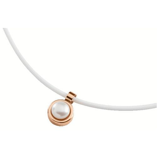 Boccia Titanium Pozlacený titanový přívěsek s perlou 07002-02