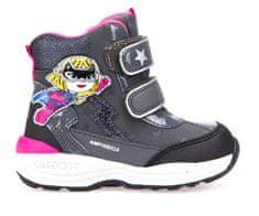 Geox dívčí zimní obuv New Gulp