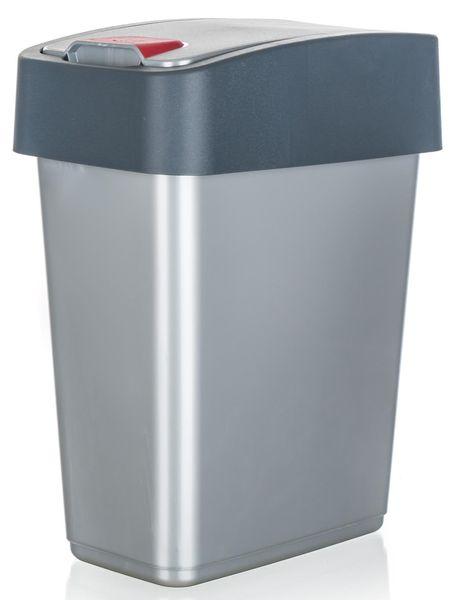 keeeper Koš odpadkový 10 l, 36,5 x 29,5 x 18 cm šedá