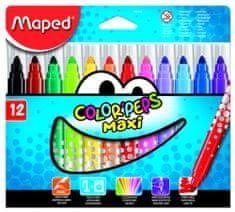 Maped flomastri Color'peps Maxi, 12/1, karton