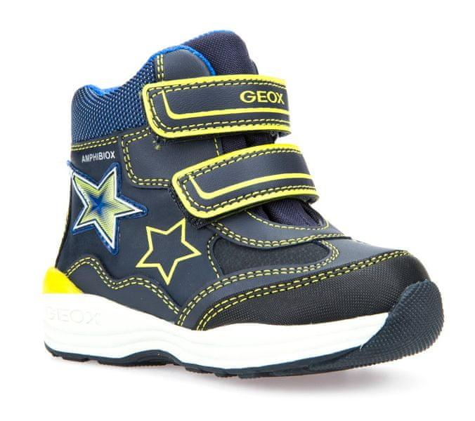 Geox chlapecká zimní obuv New Gulp 23 modrá