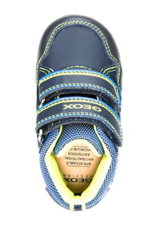 Geox chlapčenské kotníkové tenisky New Flick 26 modrá  e38e2ebfee2
