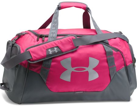 Under Armour Undeniable Duffle 3.0 MD Tropic Pink Graphite Silver ... 0528421007