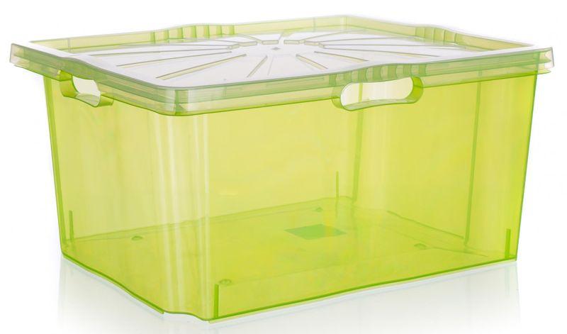 keeeper Multi-box XXL s víkem 52 x 43 cm zelená