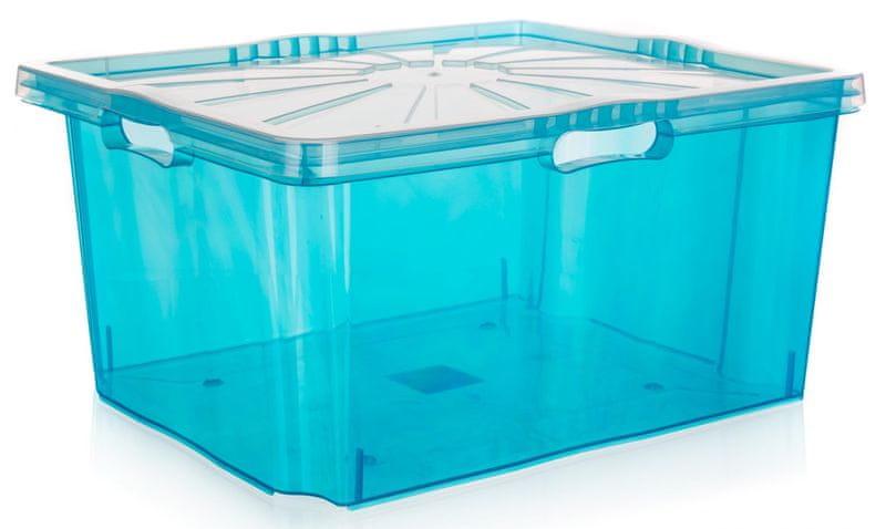 keeeper Multi-box XXL s víkem 52 x 43 cm modrá