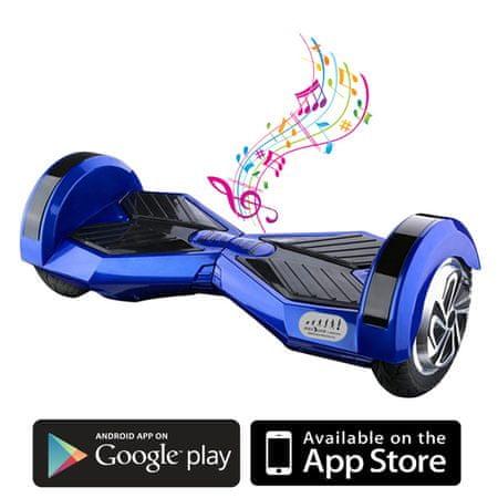 Kolonožka Premium s mobilnou aplikáciou a BT reproduktorom, modrá