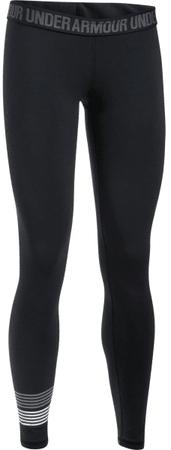 Under Armour Favorite Legging WM Graphic Black Steel White XS