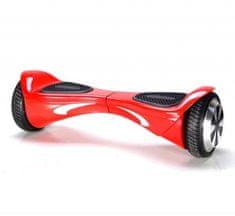 Kolonožka Offroad Auto Balance s mobilní aplikací a BT reproduktorem, červená