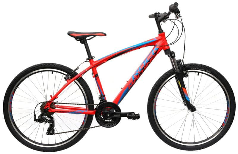 "Rock Machine 26"" Manhattan 30 14"" red/blue/black"