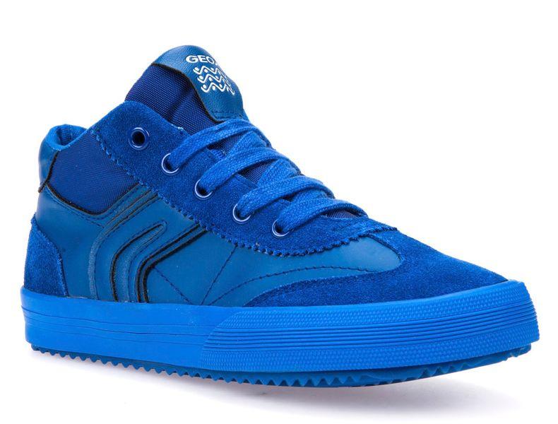 Geox chlapecké kotníčkové tenisky Alonisso 37 modrá