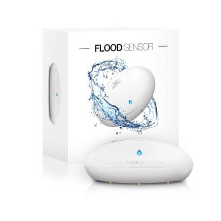 FIBARO senzor razlitja tekočin FGFS-101 ZW5, bel