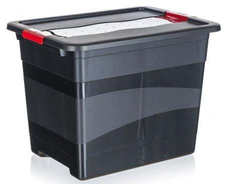 keeeper Box prepravný extra silný, veko s patentmi 24l