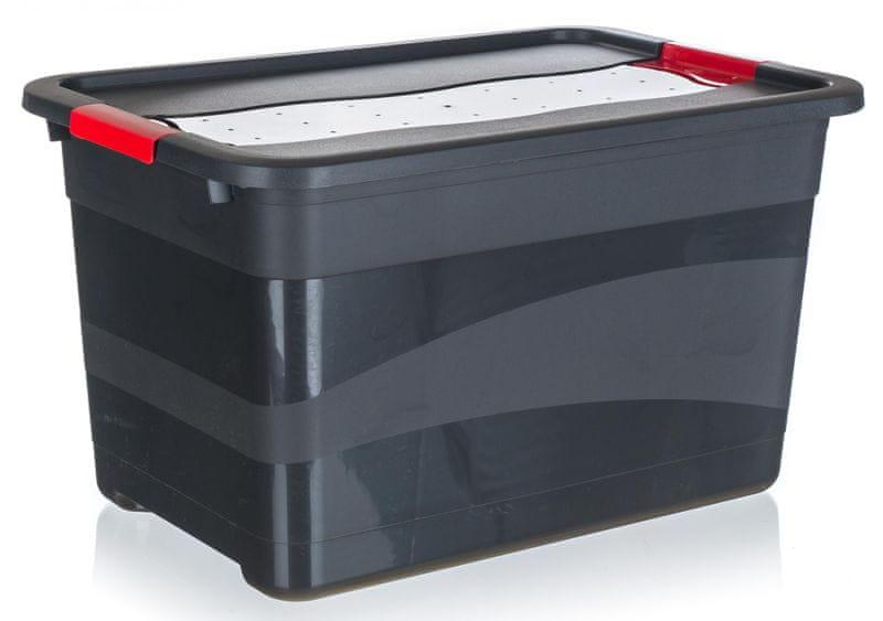 keeeper Box přepravní extra silný, víko s patenty 52l