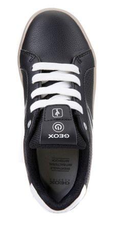 Geox chlapčenské tenisky Kommodor 29 čierna biela  7e1bdcb21b7