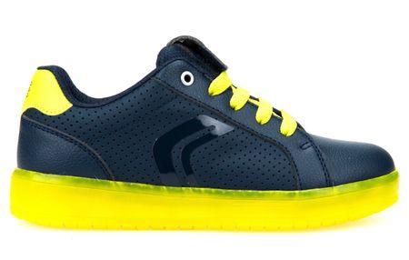 Geox chlapecké tenisky Kommodor 34 modrá/žlutá