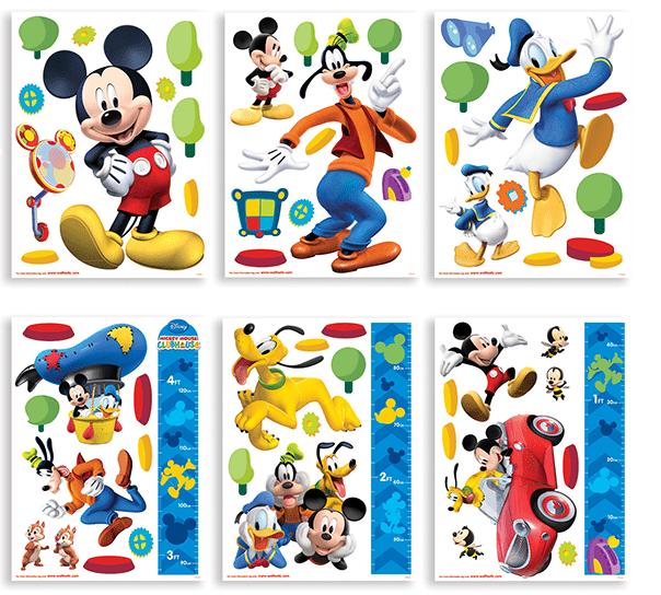 Walltastic Samolepicí dekorace Mickey Mouse