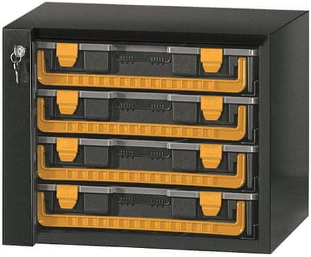 ArtPlast kovinska omarica za orodje, 4 predali