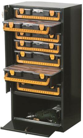 ArtPlast kovinska omarica za orodje, 7 delna
