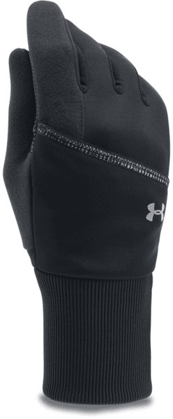 Under Armour Convertible Glove Black Black Silver S