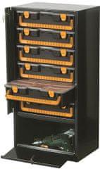 ArtPlast Zárható rendszerző szekrény,fém,6 fiókos