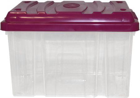 Mazzei Box bez koleček HOBBY 9 litrů fialová