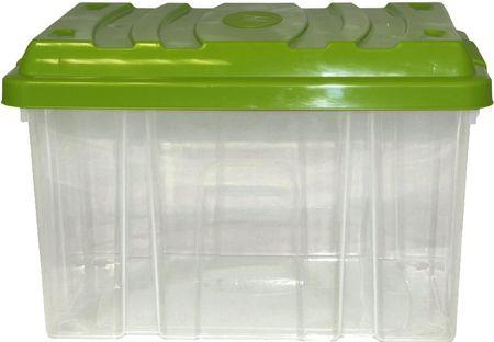 Mazzei Box bez koleček HOBBY 9 litrů zelená