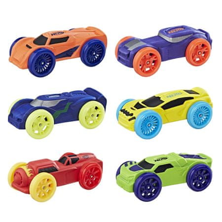 Nerf rezervni avtomobili Nitro, 6 kosev
