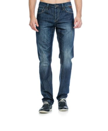 Timeout pánské jeansy 33/34 modrá