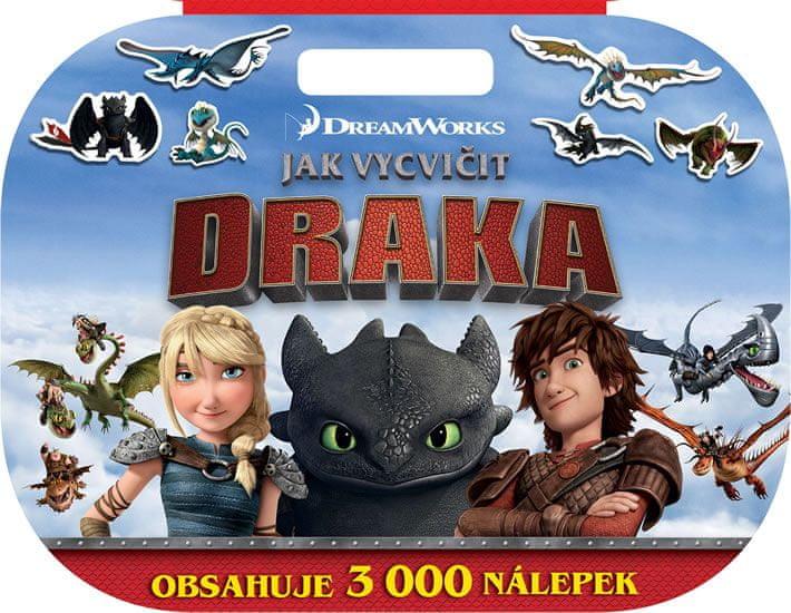 Dreamworks: Megaknížka Jak vycvičit draka
