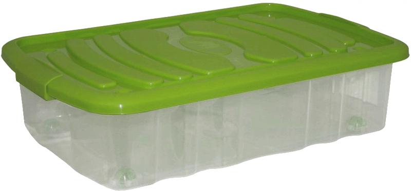 Mazzei Úložný box na kolečkách BED - 31litrů zelená