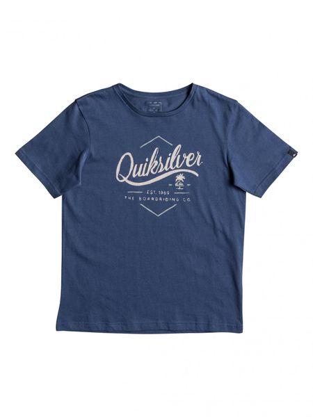 Quiksilver Ssclateytseatal B Tees Brq0 Dark Denim S/10